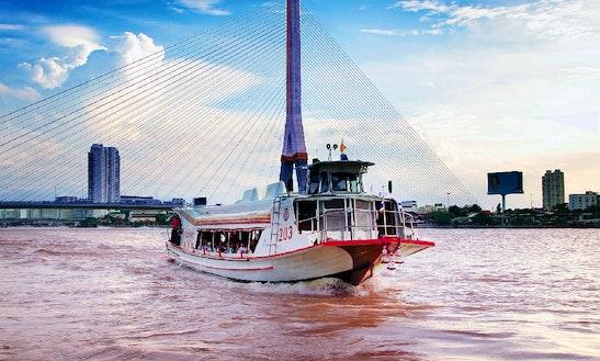 Charter Jumbo Passenger Boat In Bangkok, Thailand