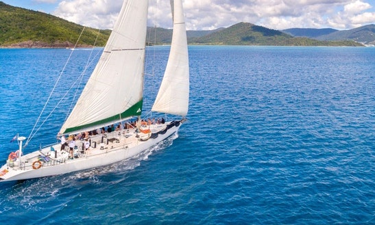 Charter 82' Spank Me Sailing Mega Yacht At Airlie Beach, Queensland
