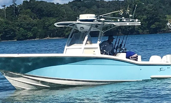 3-5 Days Private Fishing Trip On Boca Brava Island, Panama