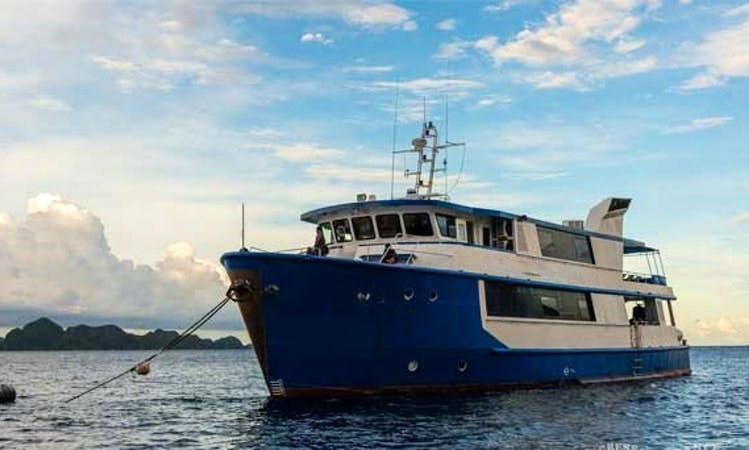 Raja Ampat Yacht Charter in Pulo Gadung, Indonesia