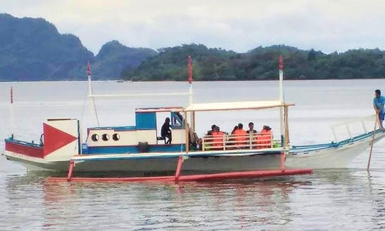 Amazing Boat Tour In Coron, Philippines On A Traditional Boat