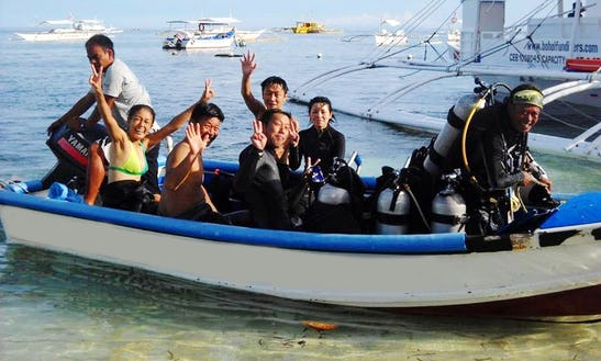 Diving Tour For 8 People In Bohol Province