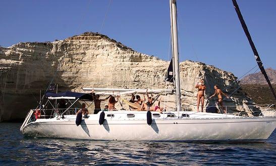 Charter 45' Gina L Cruising Monohull In Adamas, Greece