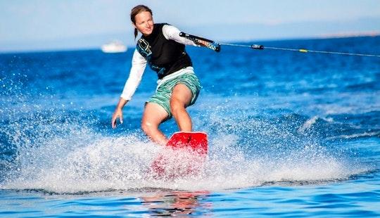 Wakeboarding In Arencamp Stupice, Premantura, Medulin