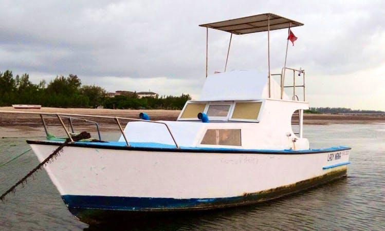 Malindi Sportfishing Charter for 4 People !
