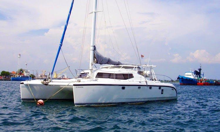 Charter 39' Cruising Catamaran with 3 Cabins in Kuta Selatan, Bali