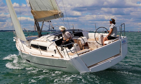 Dufour 360 Grand Large Sailing Monohull Rental In Portisco
