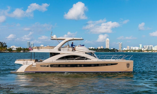 62' Rodriguez Power Catamaran Charter In Miami, Florida