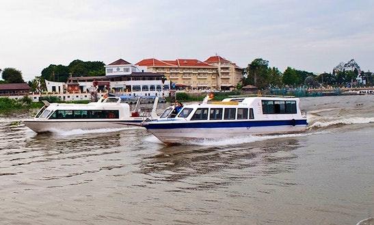 Sightsee And Explore By A Passenger Boat In Đào Hữu Cảnh, Vietnam