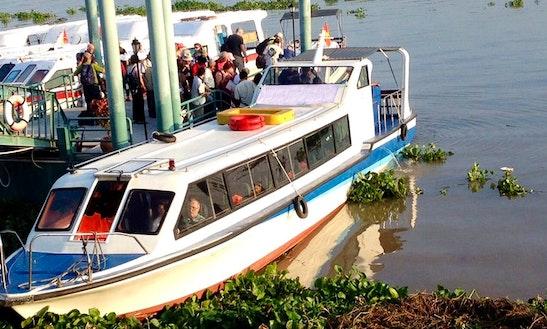 Cruise And Enjoy A Passenger Boat In Đào Hữu Cảnh, Vietnam