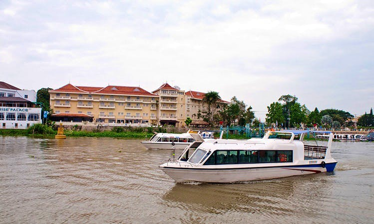 Cruise on a Passenger Boat in Đào Hữu Cảnh, Vietnam