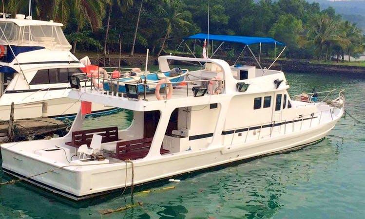 Charter 20' Camara Motor Yacht in Banten, Indonesia