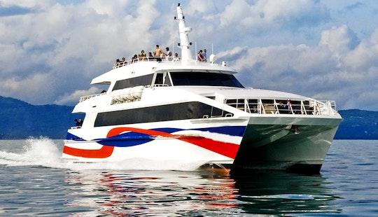 Catamaran  In Samui Thailand