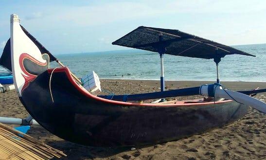 Charter Watugangga Traditional Boat In Mengwi, Bali