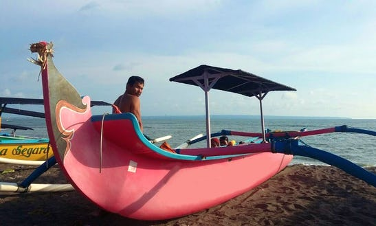 Charter Baruna Lestam Traditional Boat In Mengwi, Bali