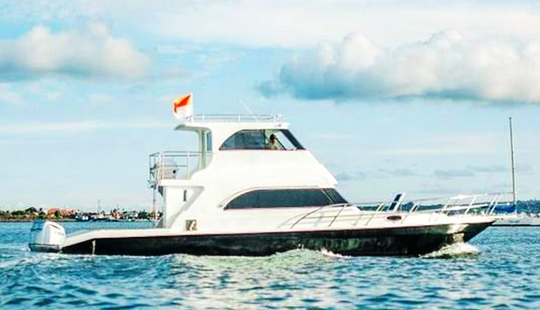 Charter 41' Sakura Eb V Motor Yacht In Kuta Selatan, Indonesia