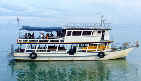 Passenger Boat  In Samui Thailand