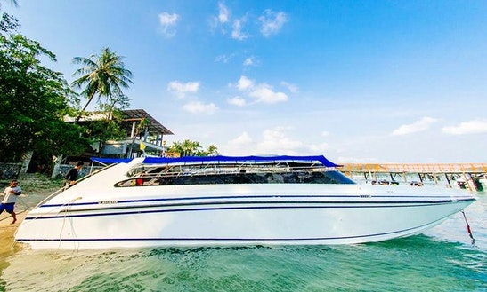 Charter Motor Yacht In Koh Samui, Thailand
