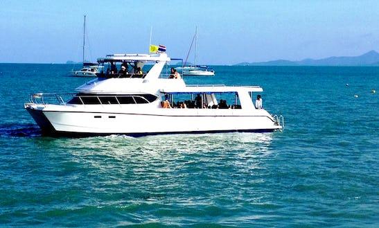Explore The Amazing Dive Sites Of Koh Samui, Thailand On This Power Catamaran