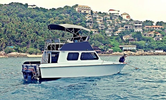 Discover The Dive Spots In Ko Samui, Thailand On This Cuddy Cabin Boat