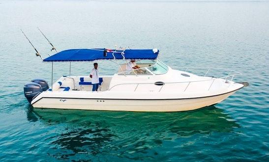31ft Dubai Fishing Trip