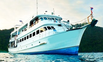 """Charter 98ft """"M/V South Siam 3"""" In Phuket, Thailand"""