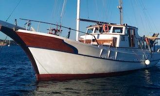 Gulet charter in Trapani: Aegadian islands, Malta, Tunisia