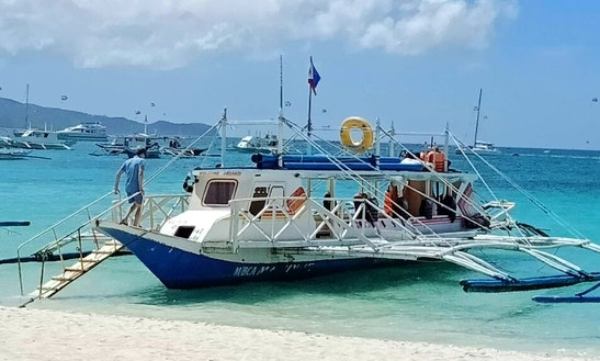Charter A 40 Seater Traditional Boat In Malay, Philippines
