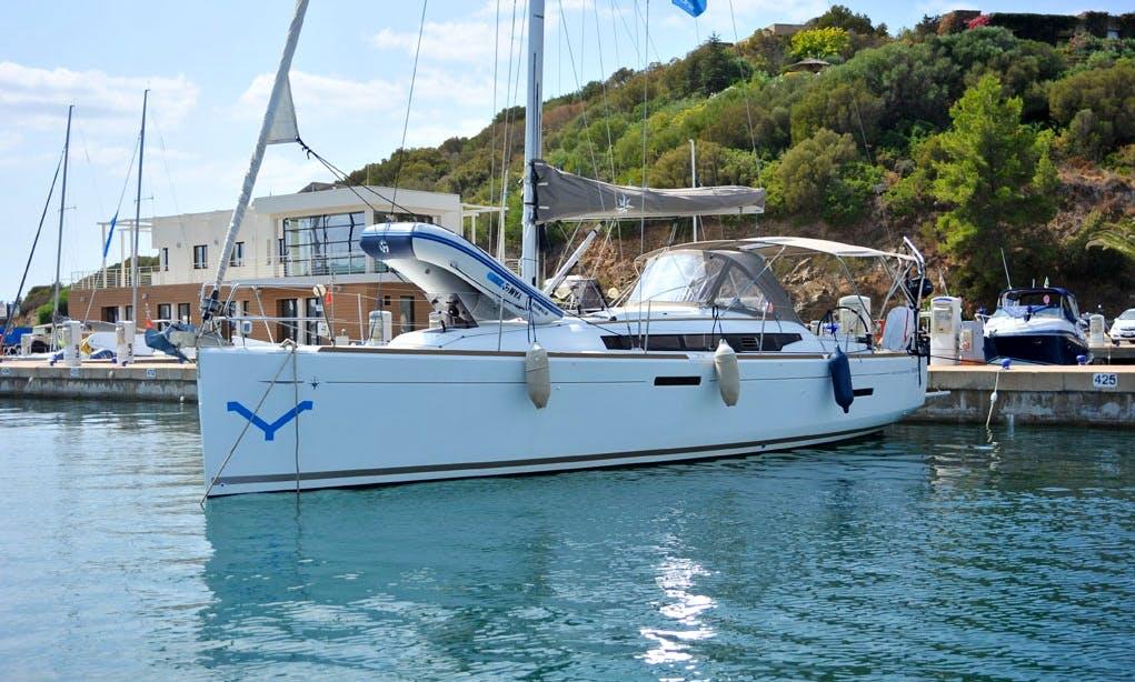"Sun Odyssey 389 (2016) ""Lady Pink"" Sailing Monohull rental in Portisco"