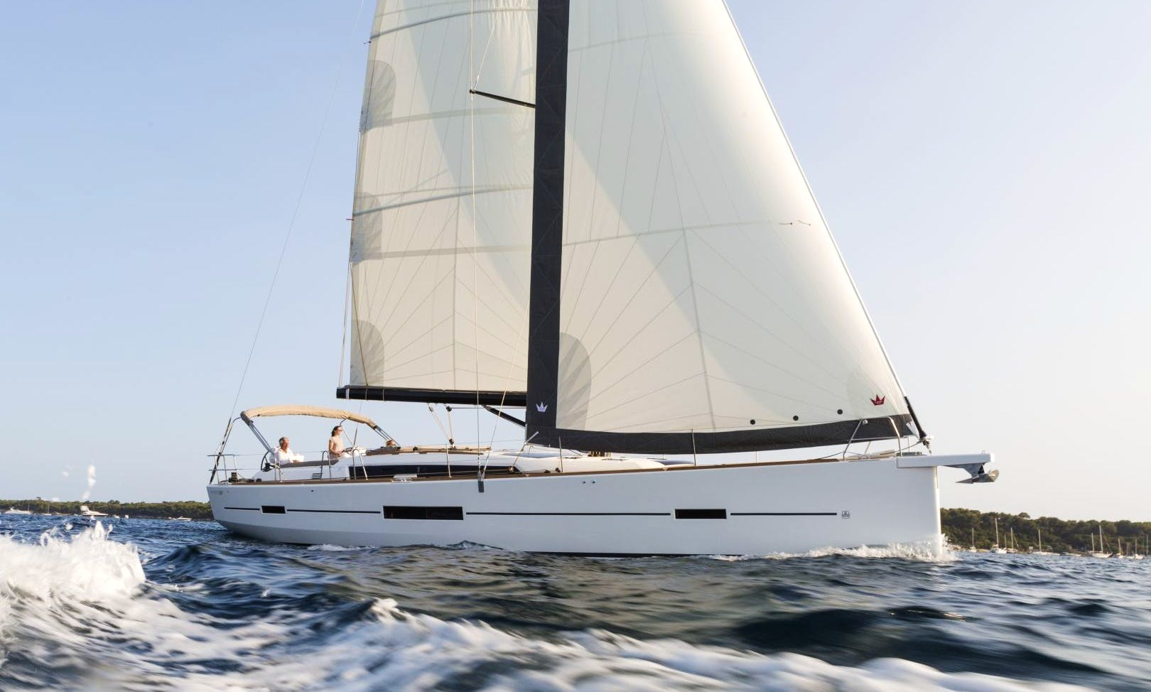 "Dufour 520 Grand Large ""Greenleaf"" Sailing Monohull rental in Portisco"