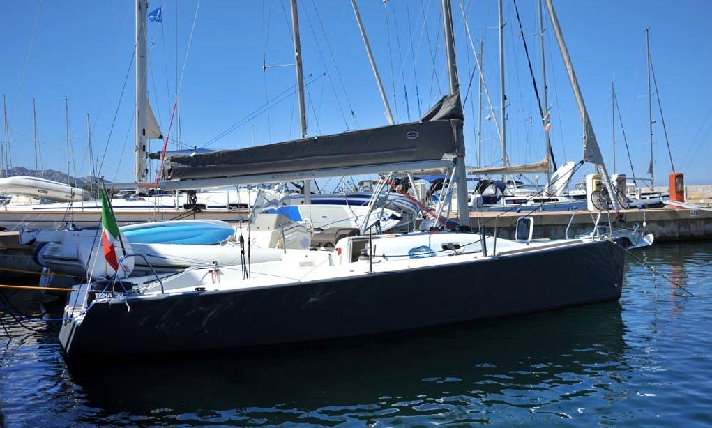 "Beneteau 25 Platu ""Athos"" Sailing monohull in Portisco, Italy"