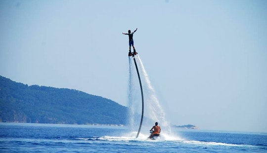 A Heart-stopping Flyboard Ride Anyone?
