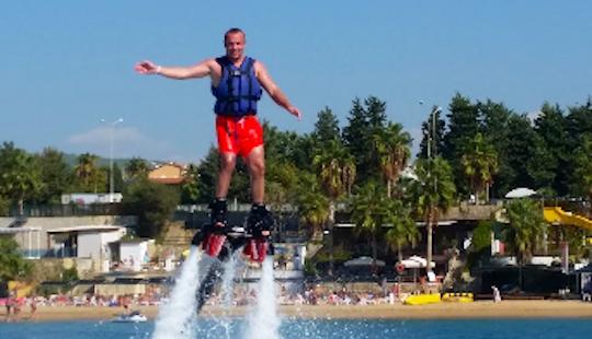Flyboarding Ride For 15-minutes In Antalya, Turkey