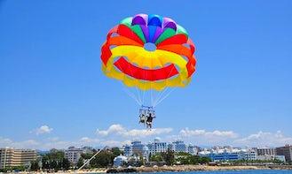 Have Fun in Antalya, Turkey on a Parasailing Ride