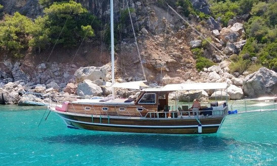 Charter Eclipse Gulet In Antalya, Turkey