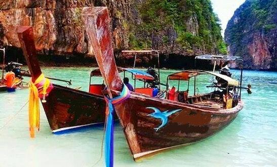 Charter A Long Tail Boat In Tambon Ao Nang, Thailand