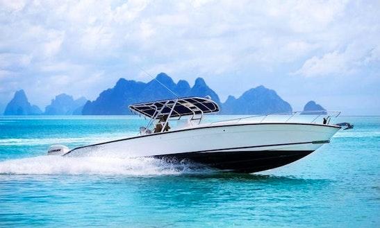 Sport Fishing Boat 35 Charter In Koh Keaw