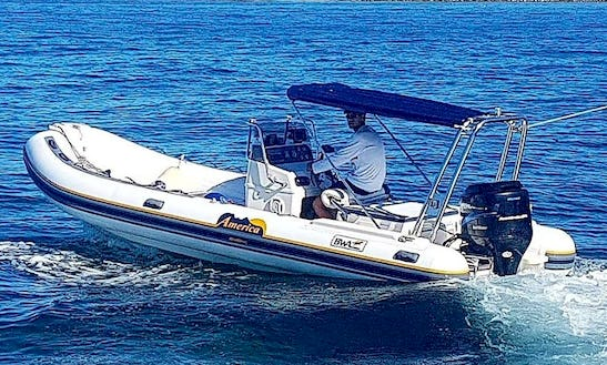 Rent A Rigid Inflatable Boat In Zadar, Croatia