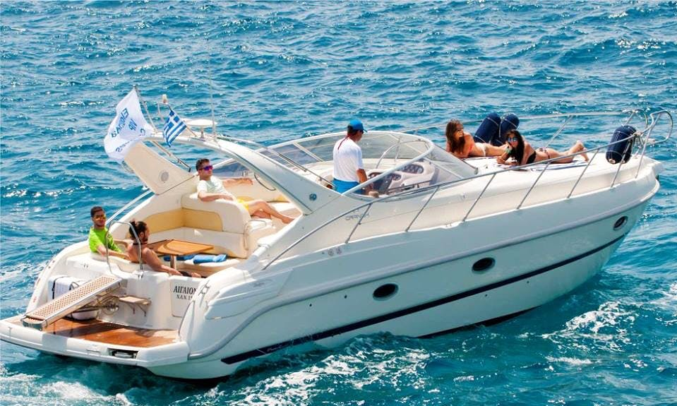 Charter 36' Zaffiro Motor Yacht in Agios Nikolaos, Greece