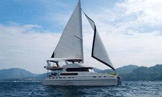 Crewed Charter on 70' Cruising Catamaran From Phuket, Thailand