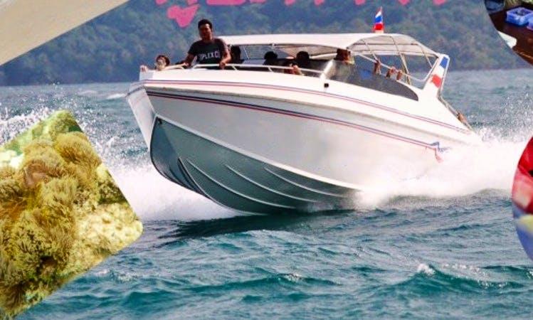 Enjoy Ko Chang, Thailand on Speed Boat