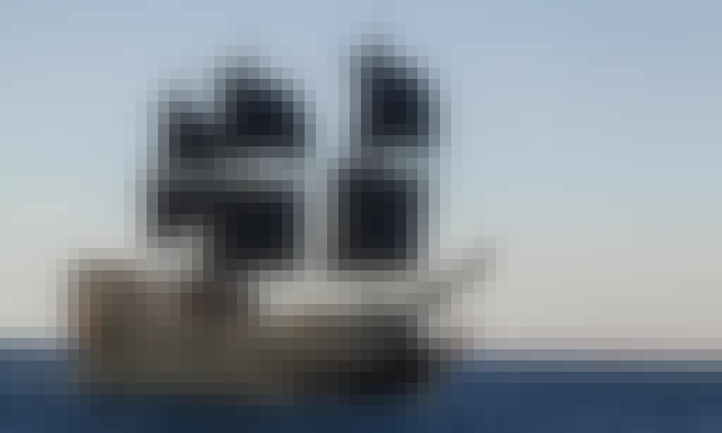 Charter 113' Black Pearl Sailing Mega Yacht in South Sinai Governorate, Egypt