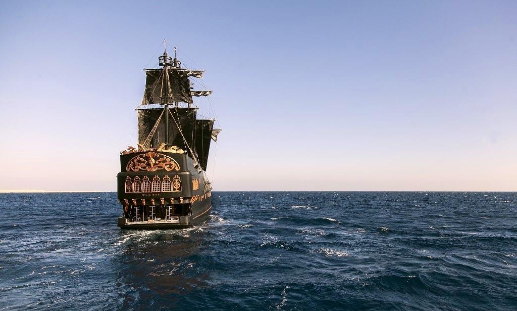 Charter 113' Black Pearl Sailing Mega Yacht in South Sinai