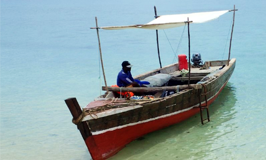 Cruise By A Traditional Boat Charter In Kilindoni, Tanzania