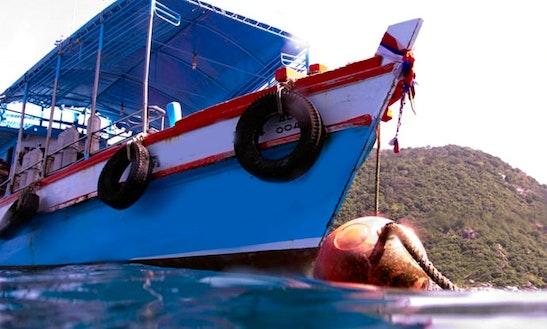 Dive Boat In Koh Tao