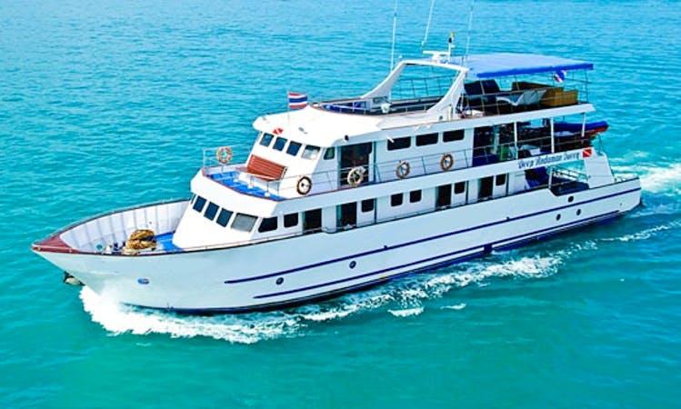MV Deep Andaman Queen  in  Thailand Koh Tao