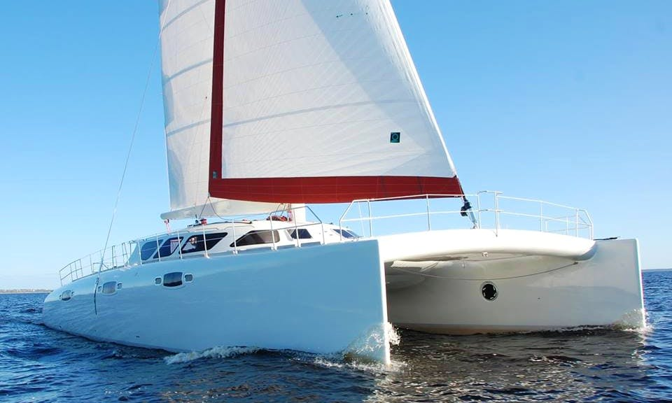 Charter 65' Wild Cat Cruising Catamaran in Rīga, Latvia