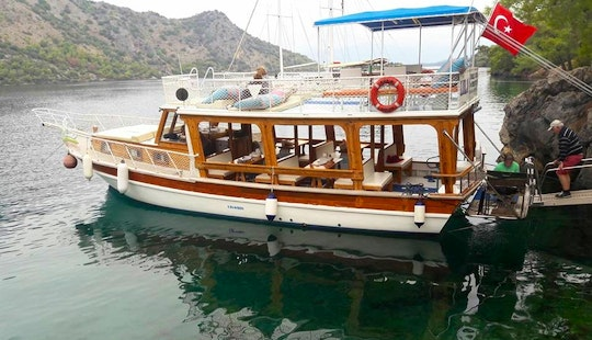 Cruise In The Wide Open Waters With This Motor Yacht Charter In Muğla, Turkey