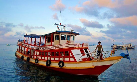 Passenger Boat  In Thailand