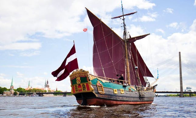Charter 62' Libava Traditional Boat in Rīga, Latvia